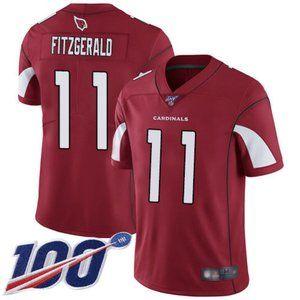 Cardinals Larry Fitzgerald 100th Season Jersey